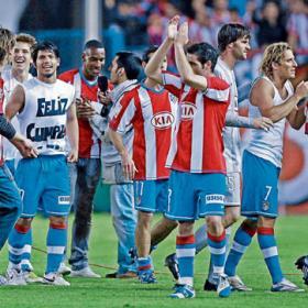 El Atlético parece volver
