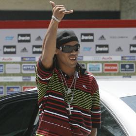 La última mueca de Ronaldinho